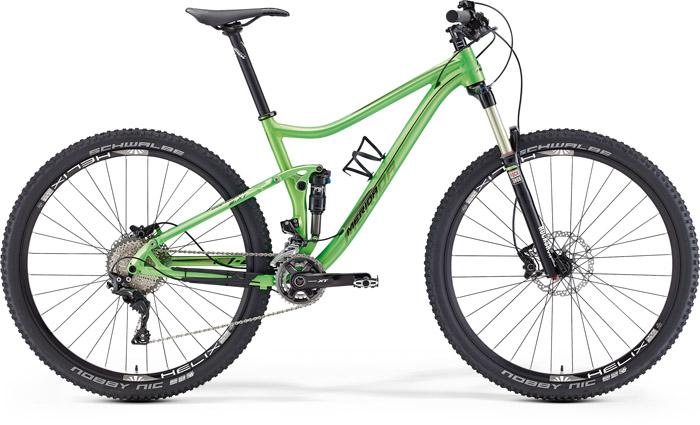 Merida One-twenty 9.xt-edition Verde-negru 2016
