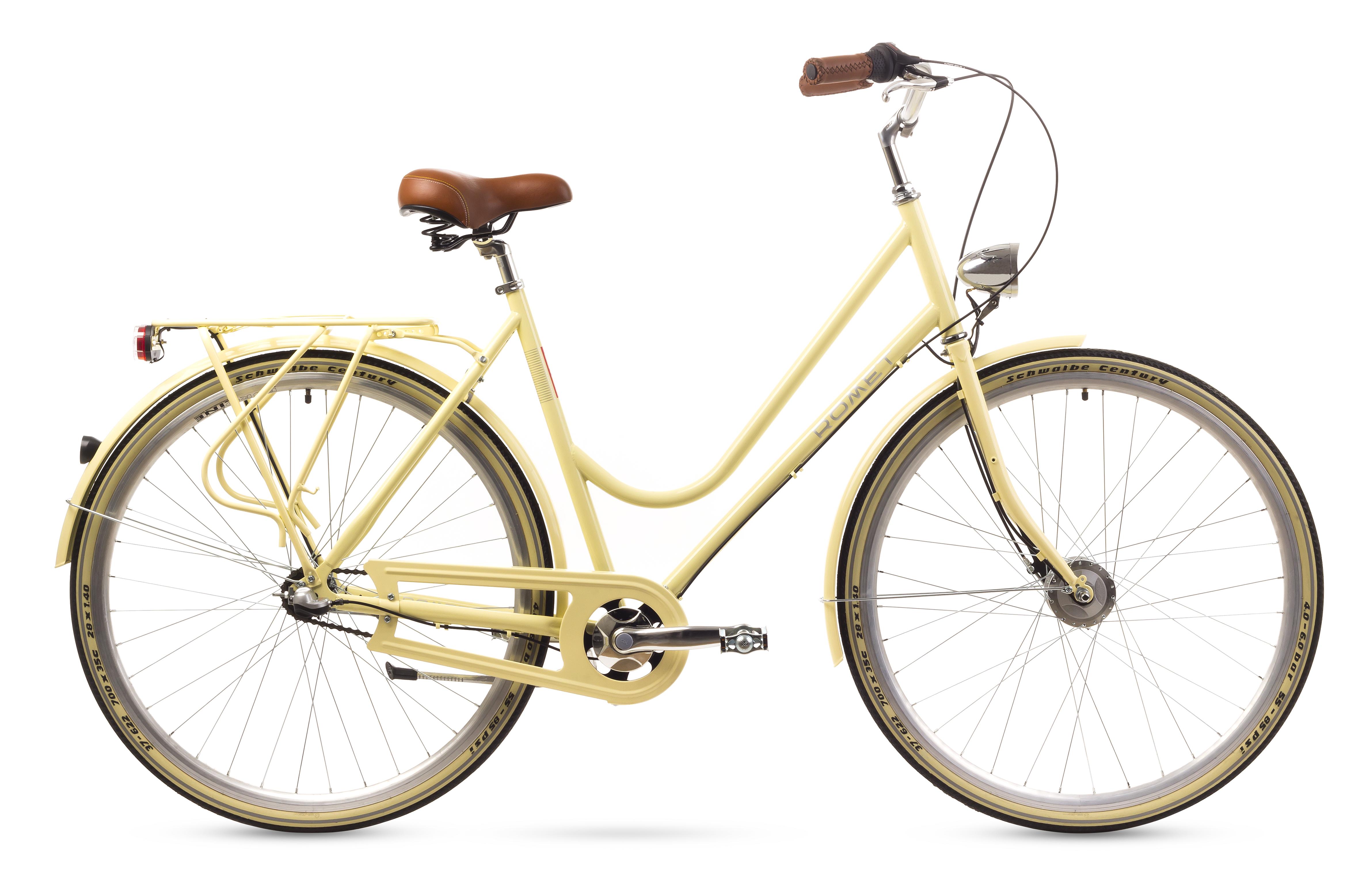 Bicicleta De Oras Romet Cameo Crem 2016
