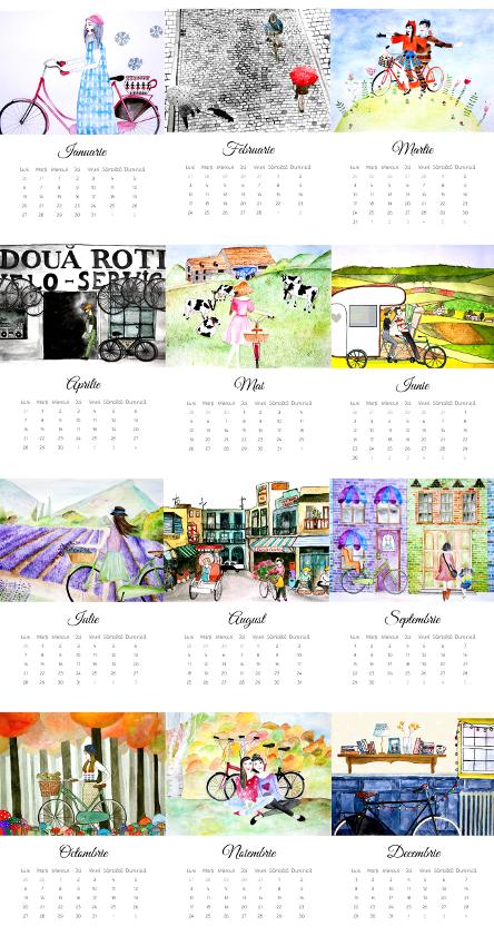 Velo-calendar 2014 De Perete