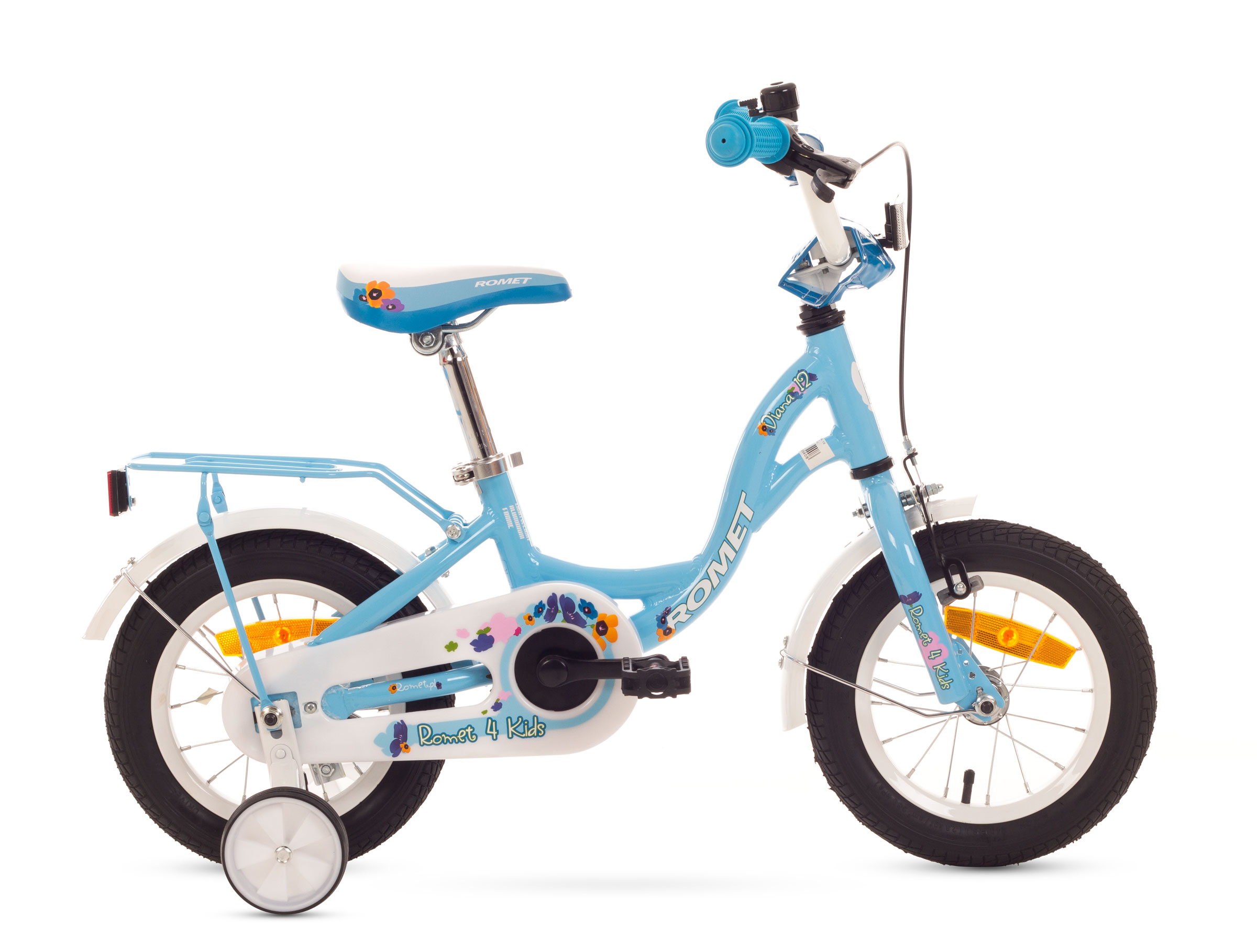 Bicicleta Pentru Copii Romet Diana 12 Albastru 2016