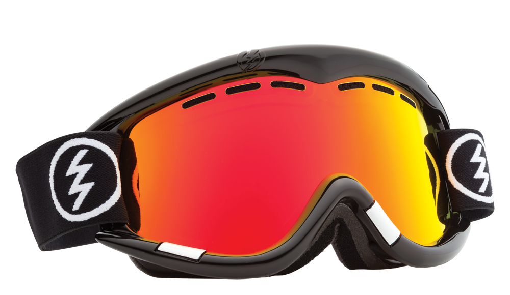 Ochelari Ski Electric Eg1 Gloss Black (bronze/red Chrome)