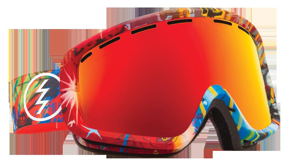 Ochelari Ski Electric Egb2 James Haunt (bronze/red