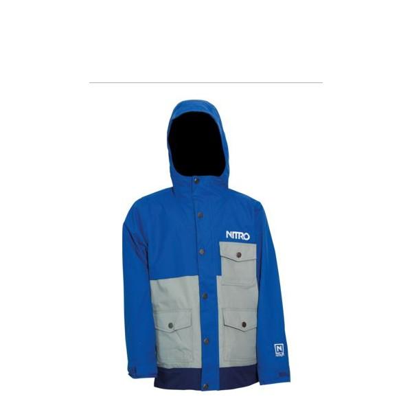 Jacheta Snowboard Nitro Boys Rockit Blue-cloud-nav