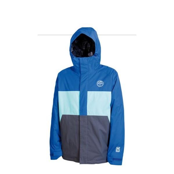 Jacheta Snowboard Nitro Funtime Blue-aqua-flint