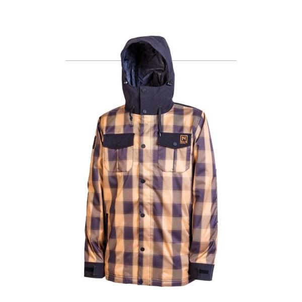 Jacheta Snowboard Nitro Greaser Wheat Plaid-black