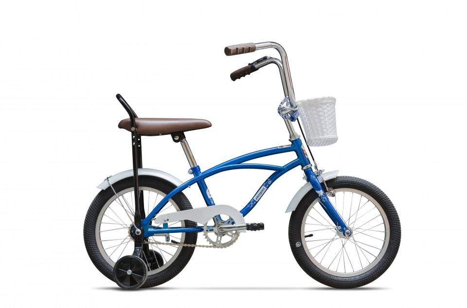 Bicicleta Pentru Copii Mezin B (16) - 1 Viteza  Albastru Cobalt