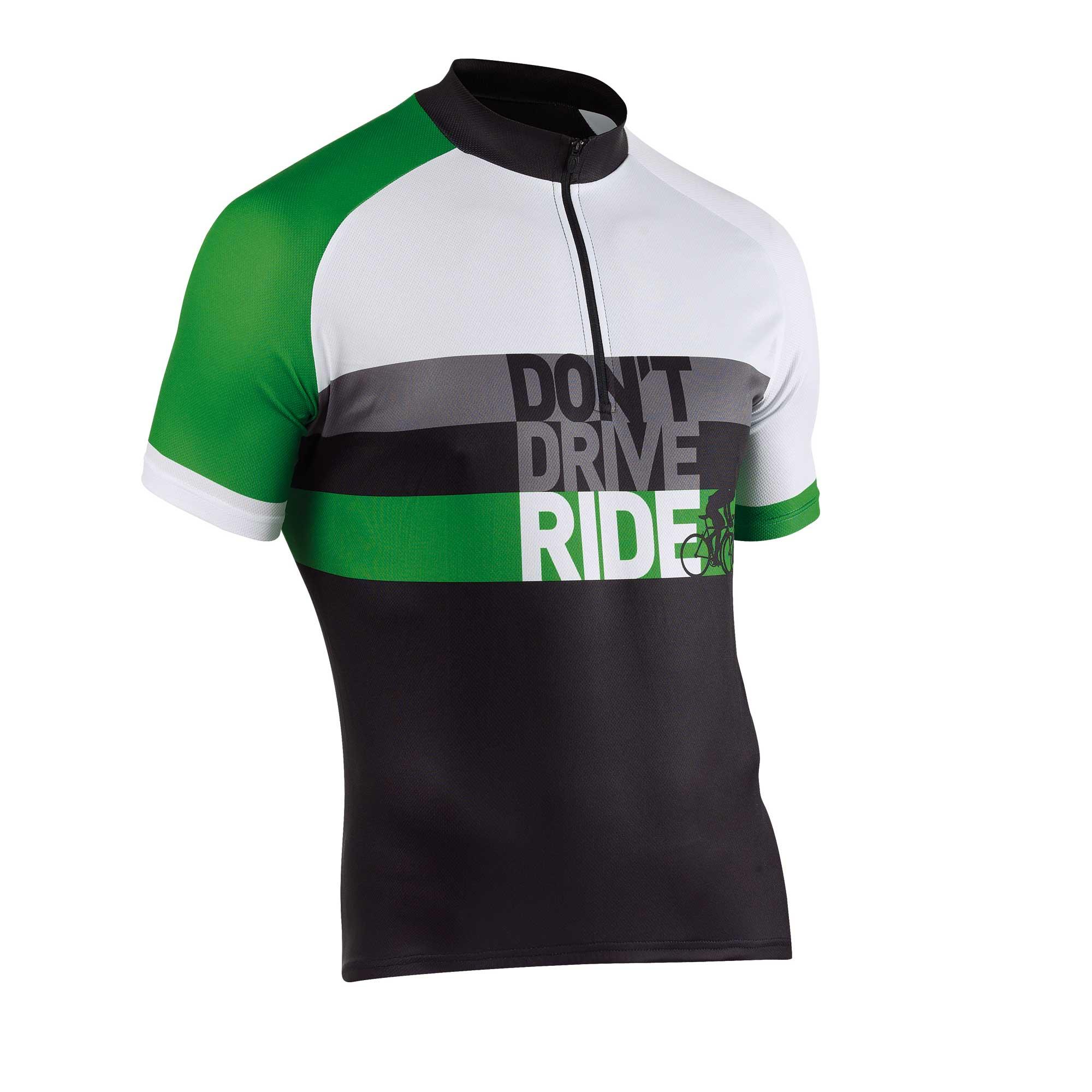 Tricou Northwave Re-cyclist Negru/verde