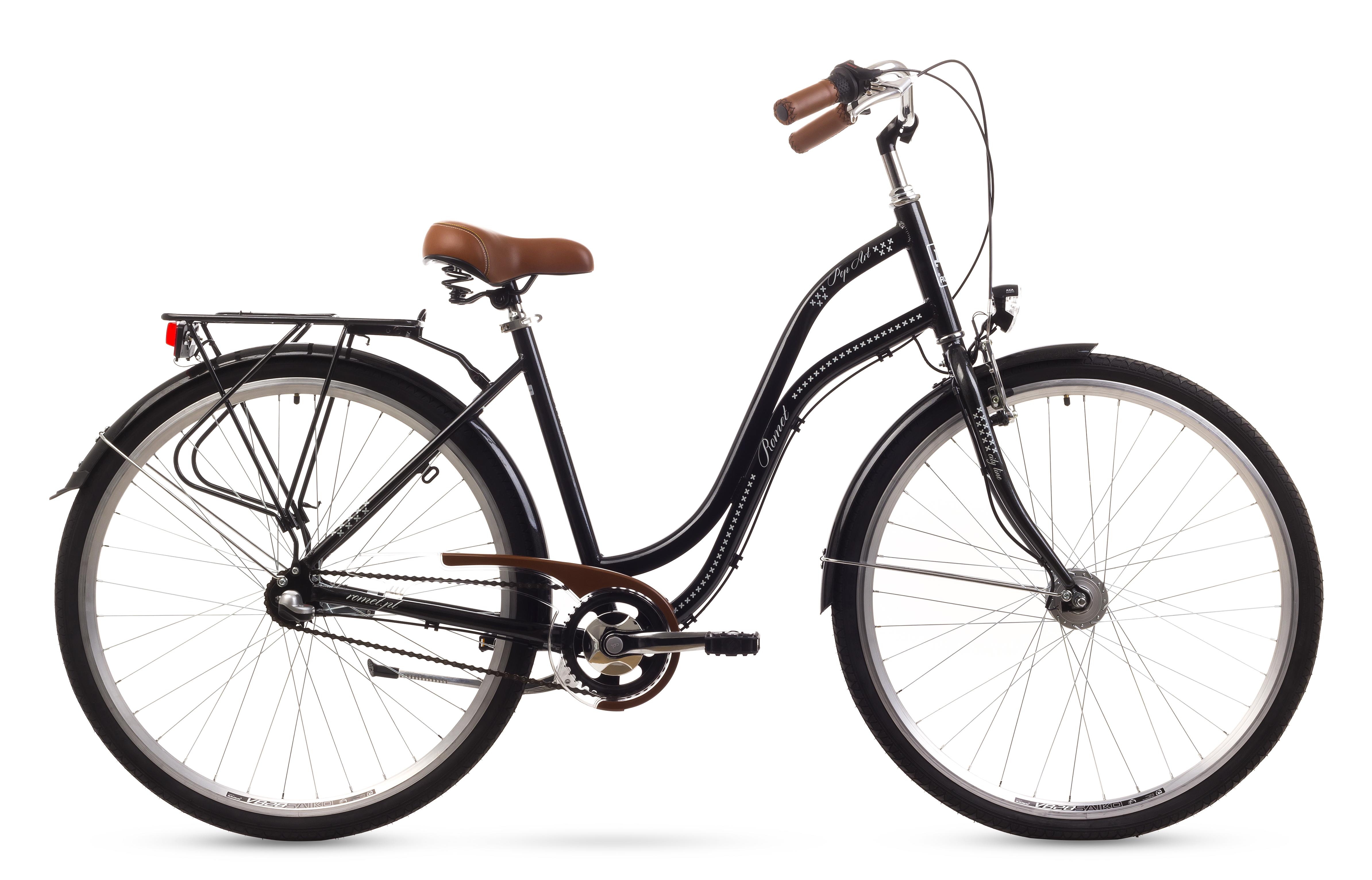 Bicicleta De Oras Romet Pop Art 28 Negru 2016