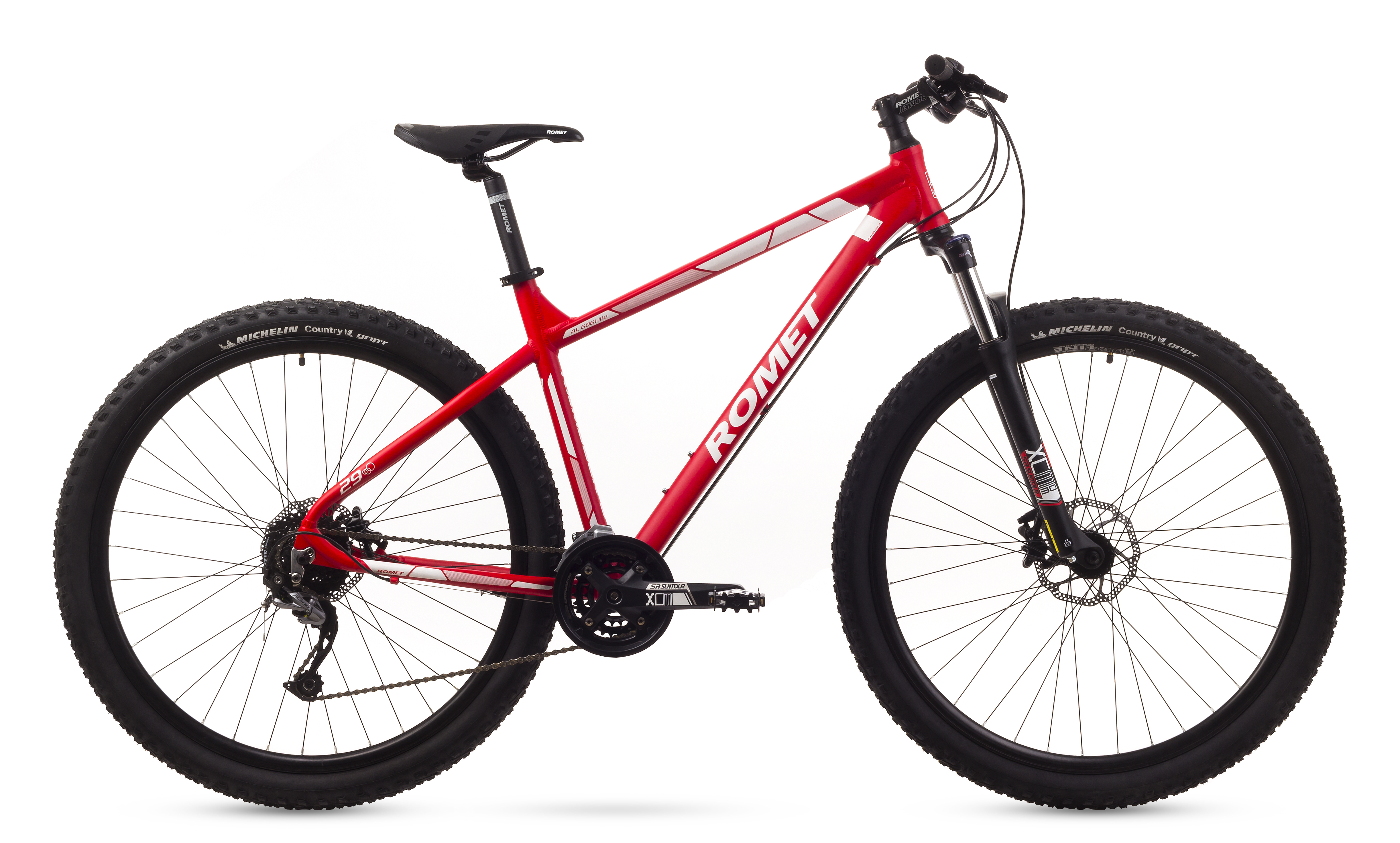 Bicicleta De Munte Romet Rambler 29 3 Rosu 2016