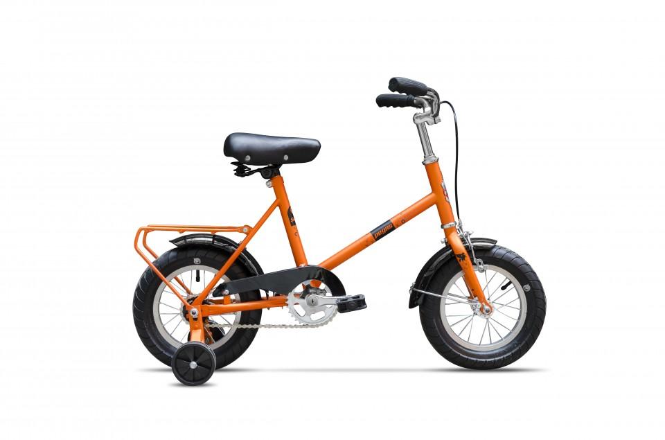 Bicicleta Pentru Copii Soim (12) - 1 Viteza  Portocaliu Morcov