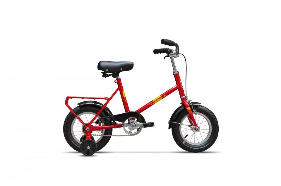 Bicicleta Pentru Copii Soim (12) - 1 Viteza  Rosu Bomboana