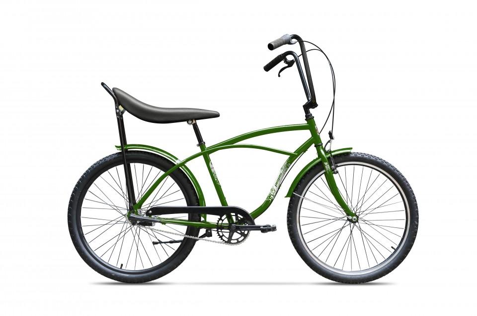 Bicicleta De Oras Pegas Strada 1 - 1 Viteza  Verde