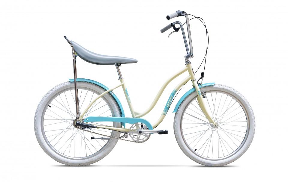 Bicicleta De Oras Pegas Strada 2 - 1 Viteza  Crem
