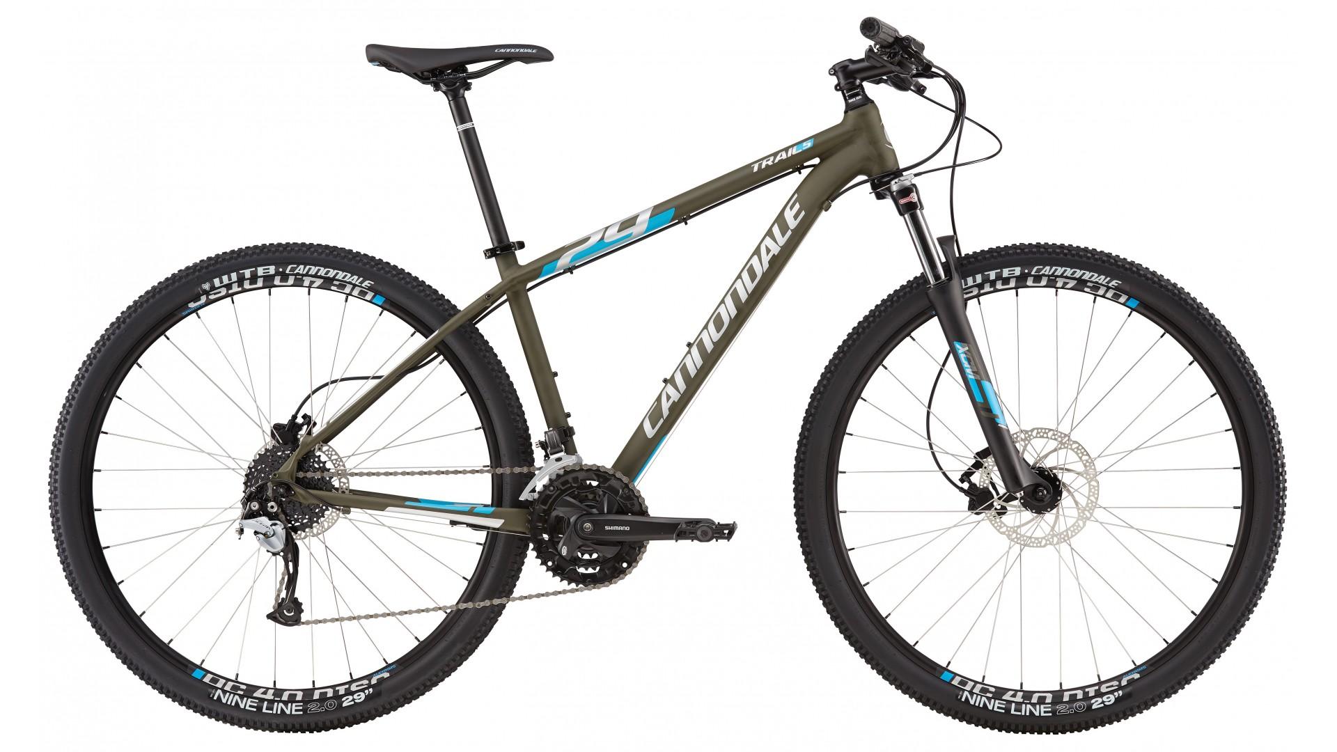 Bicicleta De Munte Cannondale Trail 29 5 2016 Gree