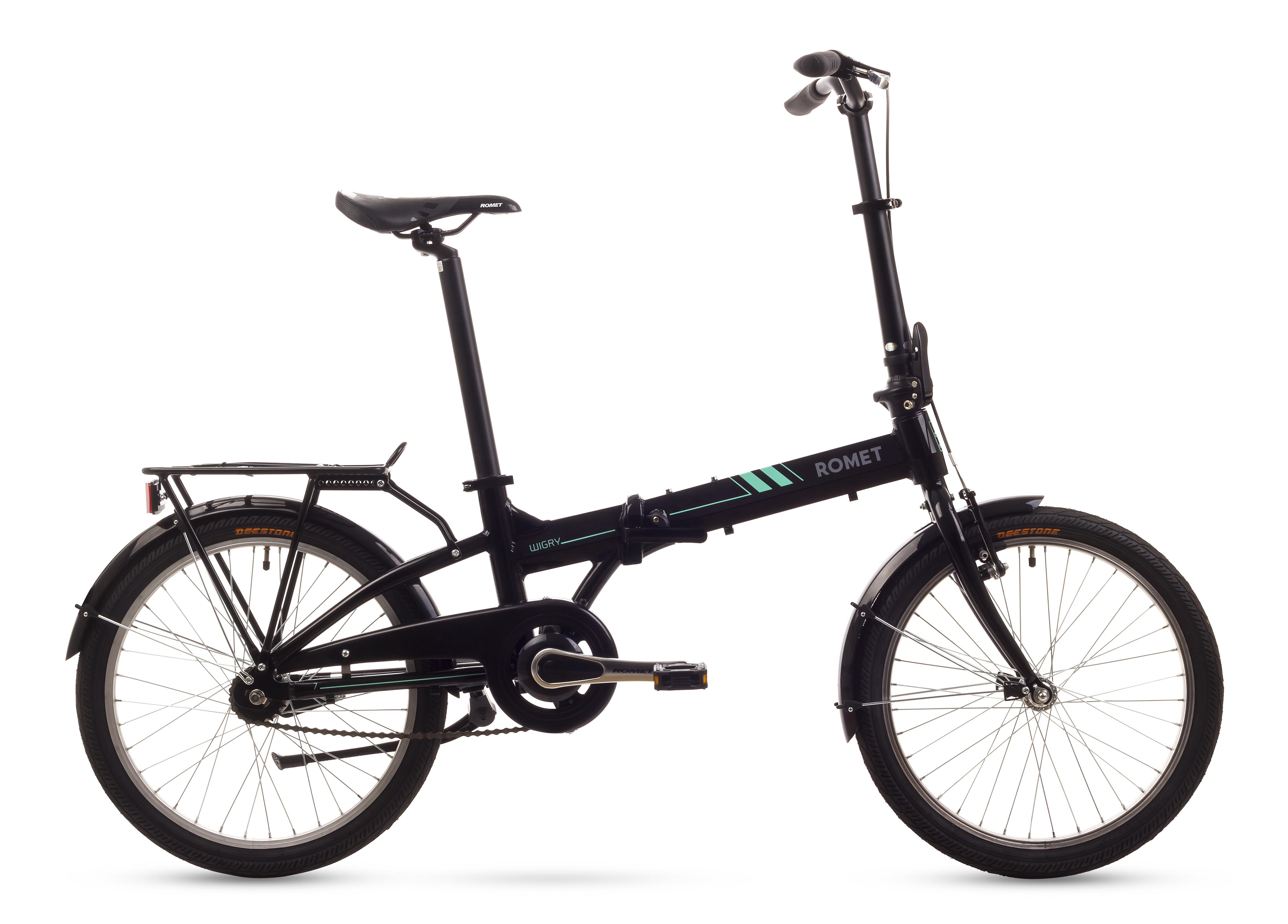 Bicicleta Pliabila Romet Wigry 2 Negru 2016