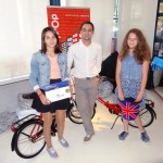 Iata castigatoarele celor 2 biciclete la Mirunette Language Competition