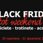 Black Friday 2013: biciclete, trotinete, accesorii + Echipamente de iarna