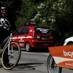 George Andreescu aka Gojira si noua lui bicicleta