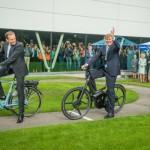 Noua fabrica Gazelle inaugurata de regele Olandei