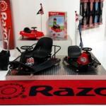 Razor Crazy Cart face show la Salonul Auto-Moto. Poti fi chiar tu la volan!