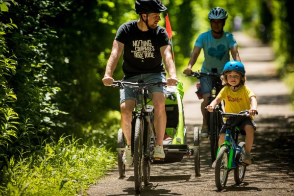Cu bicicleta in familie - Merida