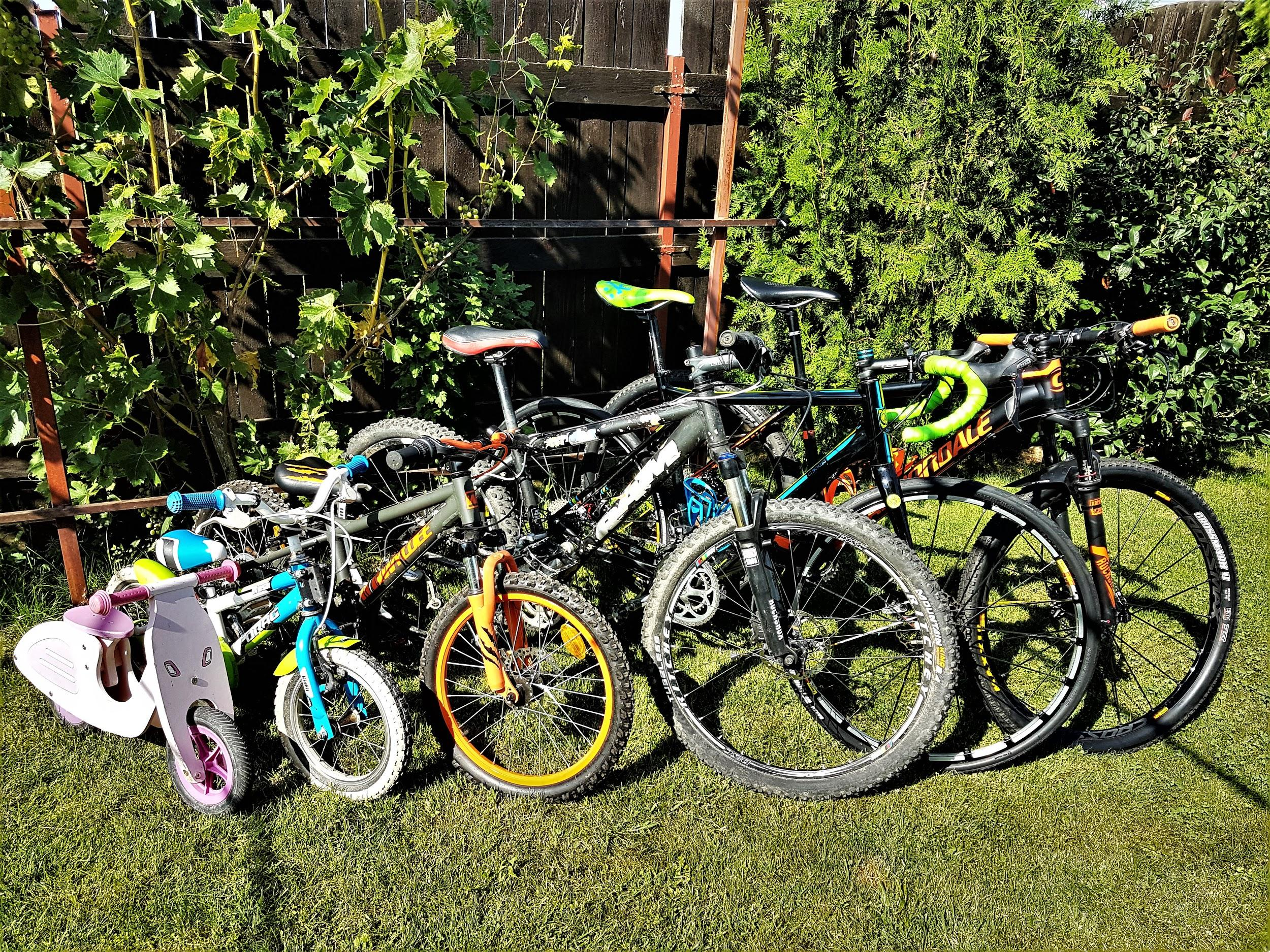 Marimi de anvelope pentru biciclete