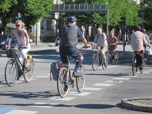 Malmo si pistele de biciclete