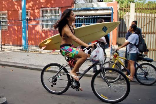 Cu bicicleta in Rio de Janeiro
