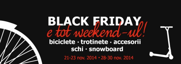Black Friday biciclete 2014
