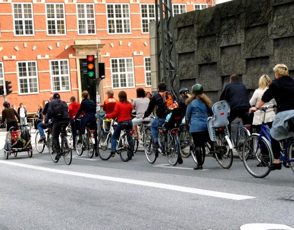 Copenhaga pe bicicleta
