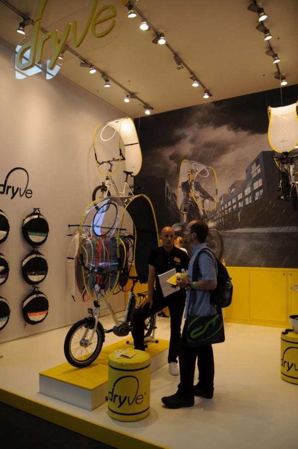 sistem anti ploaie bicicleta de la dryve