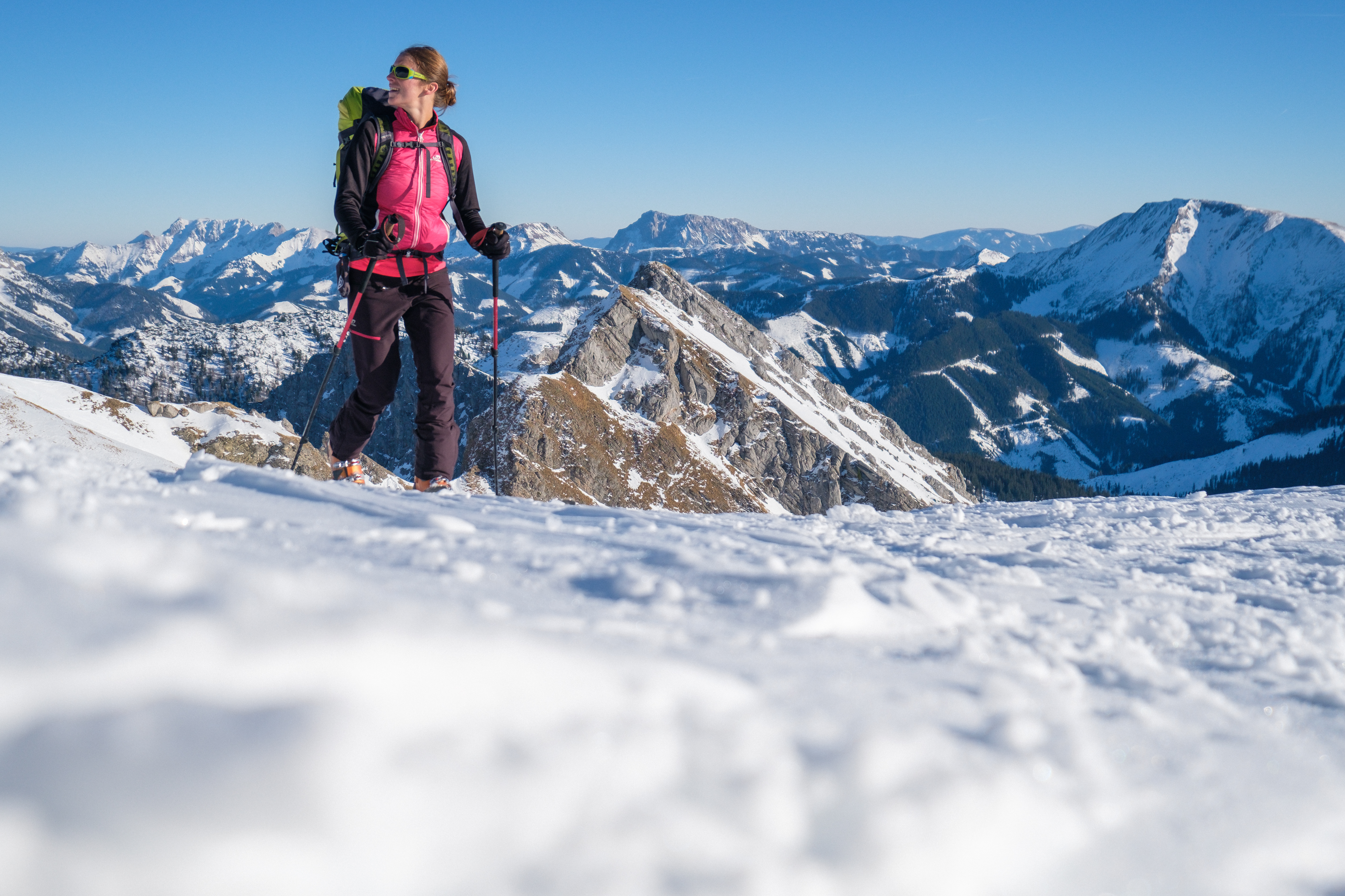 trekking pe timp de iarna