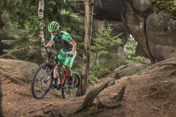 Traseu cu bicicleta la munte