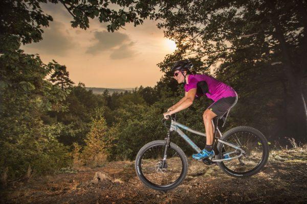 Bicicleta Romet frane