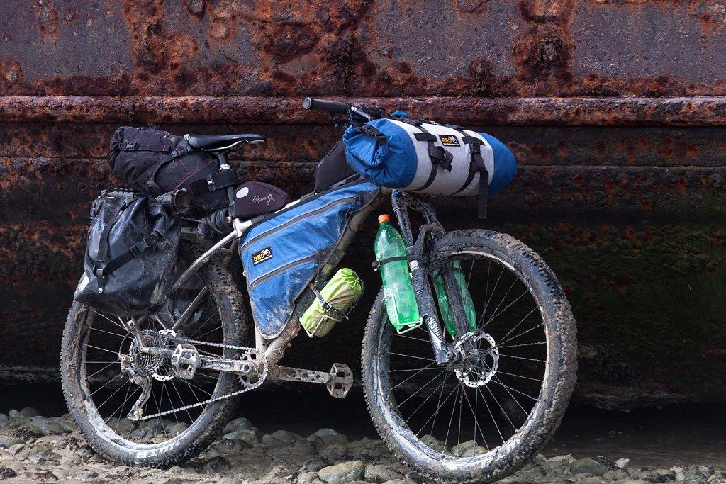 Bicicleta de trekking tip MTB