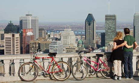 Explorare pe bicicleta in Montreal