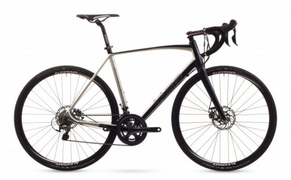 Bicicleta de sosea, cursiera endurance road/gravel - Romet Boreas-negru