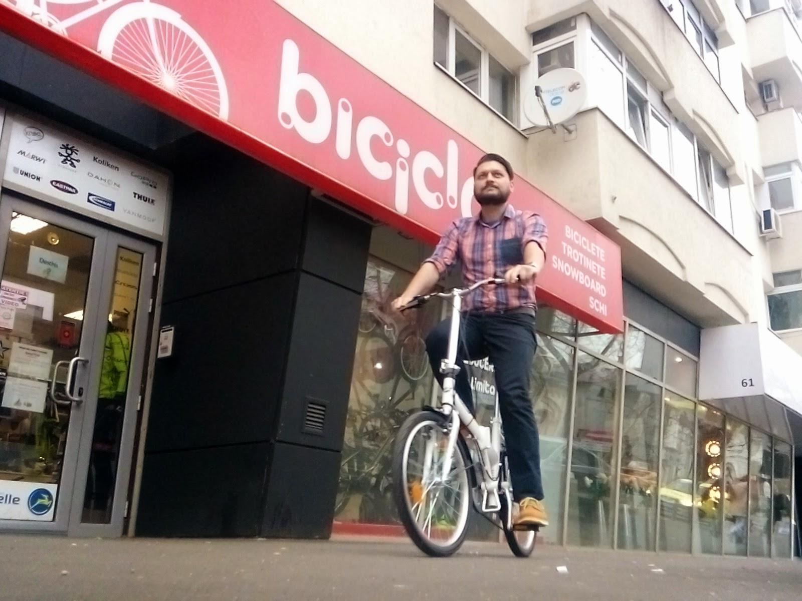 """Biciclieta pliabila Sprint Tour 20"""" Biciclop"""