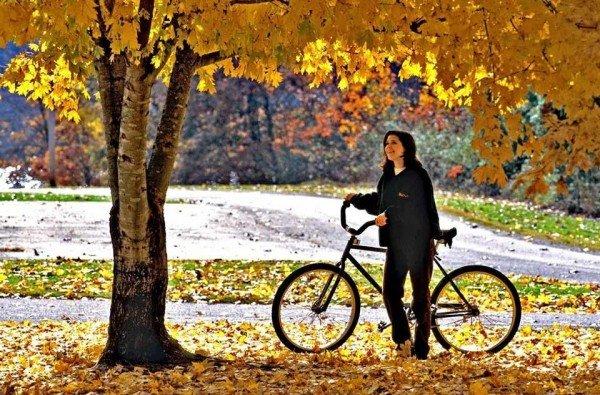 toamna bicicleta