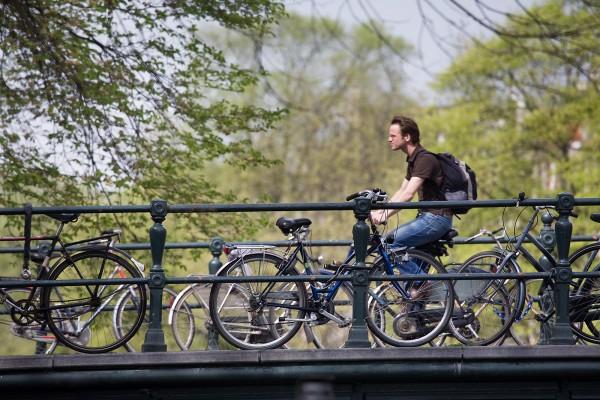 Amsterdam si bicicletele Gazelle