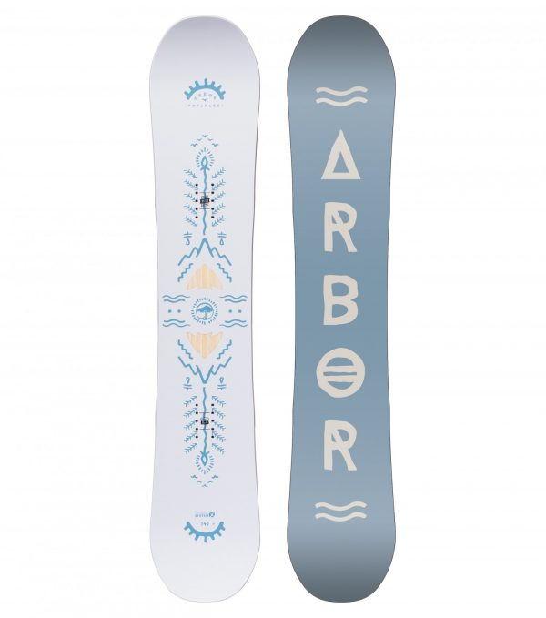 Cadou placa snowboard Arbor Poparazzi