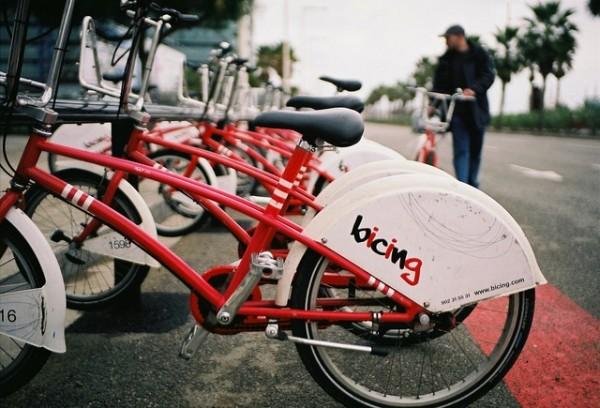 Barcelona si parcarea de biciclete