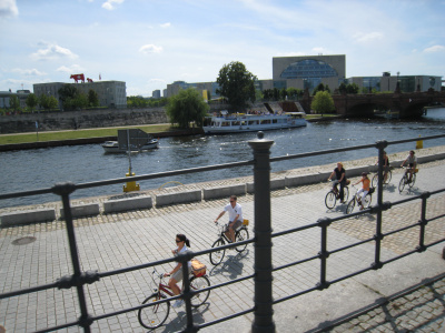 Berlin pe bicicleta