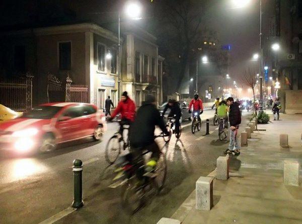 Pista biciclete Calea Victoriei