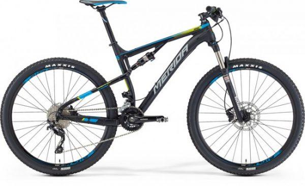 Bicicleta de munte full-suspension cross-country/marathon Merida Ninety-six-7-600