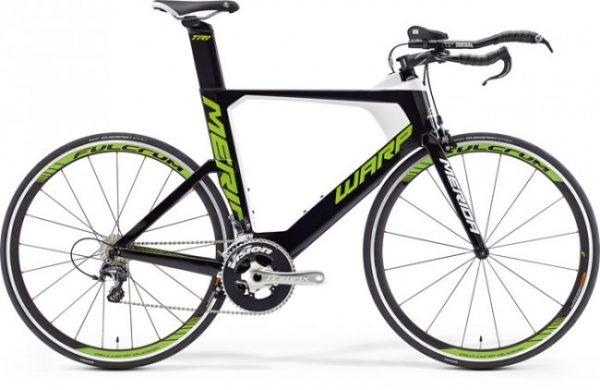 Bicicleta de sosea, cursiera contratimp/triatlon - Merida Warp-tri-5000
