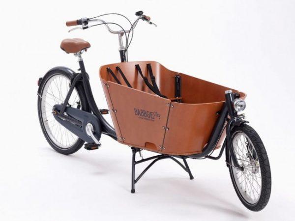 Bicicleta cargo - cargo-bike-babboe-city