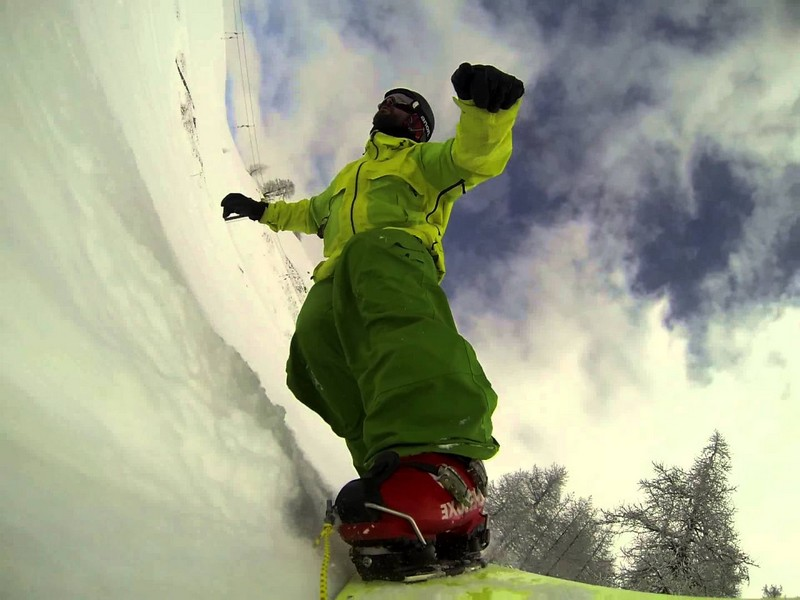 Clapari snowboard
