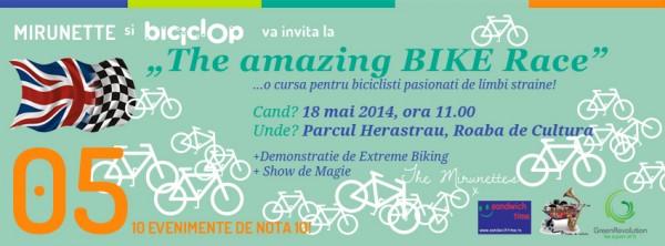eveniment herastrau pe biciclete mirunette