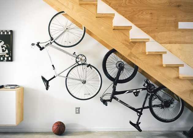 Carlig de ancorare a rotii bicicletei